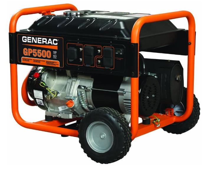 Generac 5939 GP5500 Gas Generator