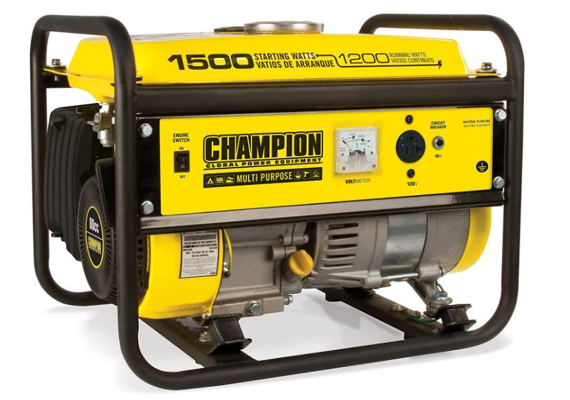Champion 1500 Watt Generator